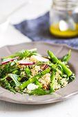 foto of rocket salad  - Ouinoa with Asparagus - JPG