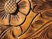 Engraved Wood Texture