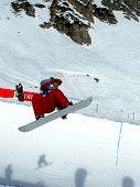 Snowboard Halfpipe 01