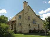 Late 1800'S Kansas Limestone Home