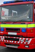 Close Up Fire Engine