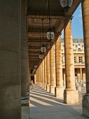 Stoa And Columns In Royal Palace, Paris2