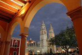 Kathedraal In Campeche, Mex.