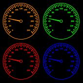 vector speedometers