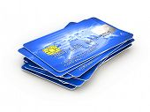 pic of debit card  - Credit cards - JPG