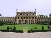 foto of imambara  - Inner gate of asafi imambar complex of lucknow - JPG