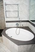 Expensive Corner Bath Unit
