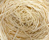Close-up Of Straw Nest