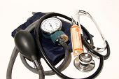 image of medical supplies  - medical supplies isolated - JPG