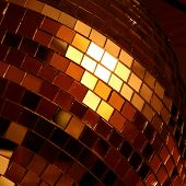 shiny discoball