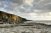 Fanore cliff