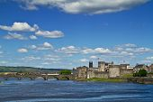 King John Castle scenery in Limerick  - Ireland