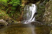 Torc waterfall in Ireland