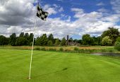Idyllic golf course in Adare with Abbey - Ireland