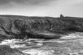 Classiebawn castle on the coasline of Co. Sligo - Ireland