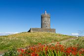 Doonagore castle near Doolin, Co. Clare - Ireland