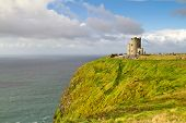 OBriens tower on Irish Cliffs of Moher