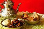Moroccan cookies for Ramadan