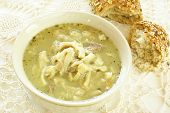 Polish tripe soup (