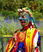 Bhutan dancer