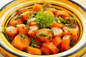 pic of tagine  - Moroccan carrot - JPG
