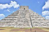 Chichen Itza, Mexico - Mayan ruins - El Castillo (Temple of Kukulkan)