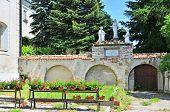 Bernardine church and monastery in Le?ajsk (Poland)