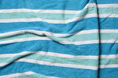 Wrinkled Beach Towel Background