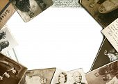 foto of telegram  - Vintage photos and postcards frame - JPG