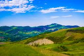 Hills landscape from Italy