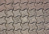 Tiled road texture