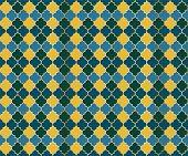 Ottoman Mosque Window Vector Seamless Pattern. Ramadan Mubarak Muslim Background. Traditional Ramada poster