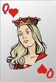 Reina del corazón