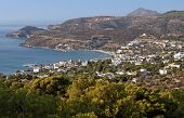 Aegina island in Greece