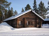 Lapland Log Cabin