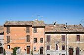 View of San Martino al Cimino. Lazio. Italy.