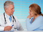 Paciente e seu médico glorioso