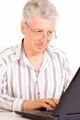 Working elderly male