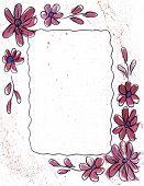 Border Fuschia Flowers