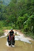 Cycling through Sumatra