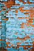 Distressed Brick Wall 5