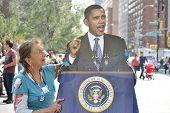 Barack Obama, votantes Regristration