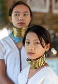 Padaung tribe girls, Myanmar