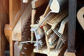 Piano Mechanism Gavel - String, Pins And Hammers