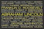 United States Presidents Tag Cloud