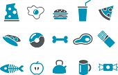 picture of bonefish  - Vector icons pack  - JPG