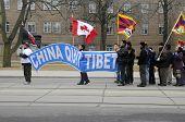 Tibetan Rally.