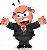 Boss Man Shouting