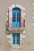 Oldfashioned Window With Balcony