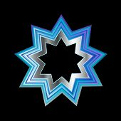 Bahai Faith Nine Pointed Star